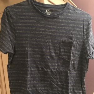 J Crew soft subtle stripe T Shirt